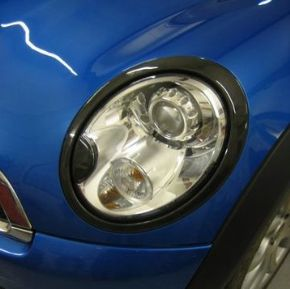 Headlight rings, Carbon fibre 2nd gen